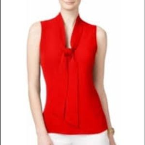 Tops - Michael Kors Red Dress Top